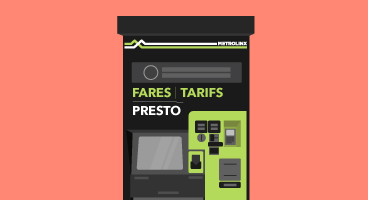 PRESTO fare vending machine