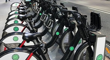 Image of Bike Share bikes